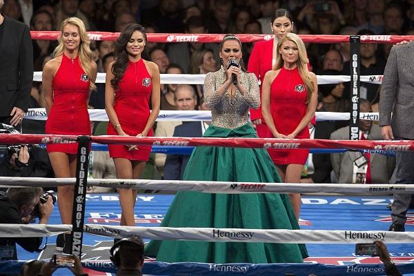 A través de las redes sociales, los internautas celebraron que la mexicana no se equivocara como Ana Barbara. Foto: Mexsport