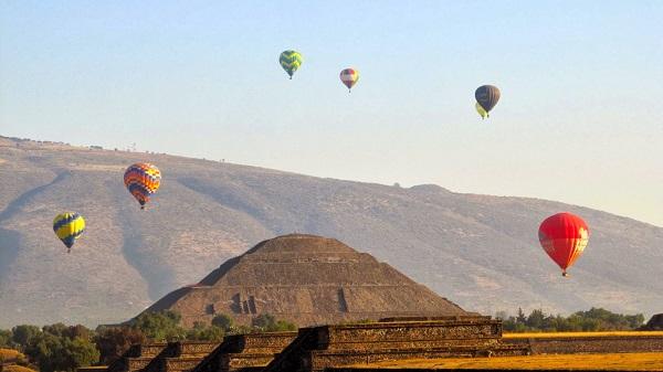 """El evento iniciará a las 06:00 horas con el inflado de globos en el Rancho """"El Horreo"""", cerca de las Pirámides de Teotihuacán, un complejo arqueológico mexicano ubicado en el noreste de la Ciudad de México. Foto: Especial"""