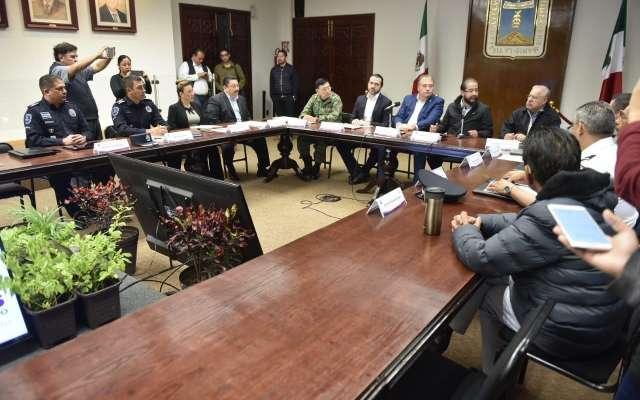 Con la participación de las corporaciones de seguridad federal, el gobierno de Morelos se suma al Plan Nacional de Seguridad y Paz anunciado por el presidente Andrés Manuel López Obrador