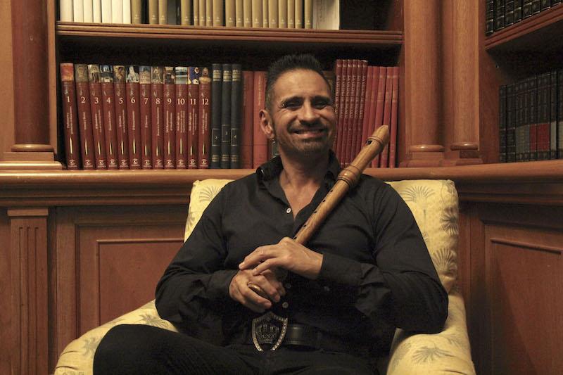El flautista y director Horacio Franco. FOTO: ADRIANA ALVAREZ/CUARTOSCURO.COM