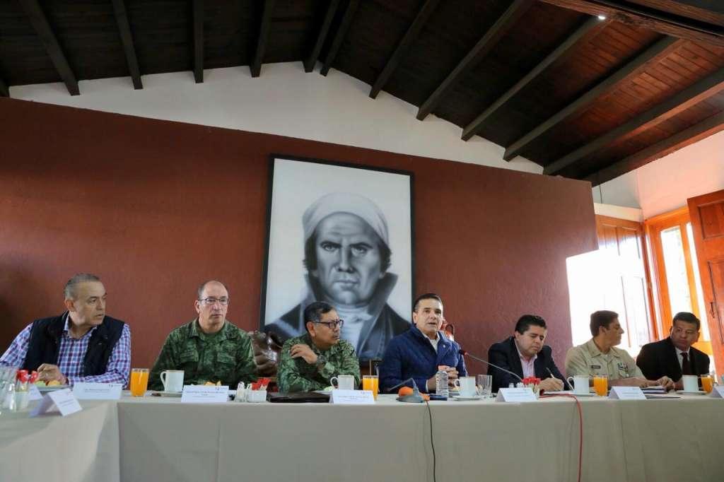 Aureoles reiteró que con el nuevo gobierno federal trabajará en un marco de respeto y colaboración
