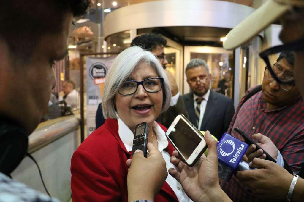 En la imagen, Graciela Márquez Colín FOTO: ARCHIVO