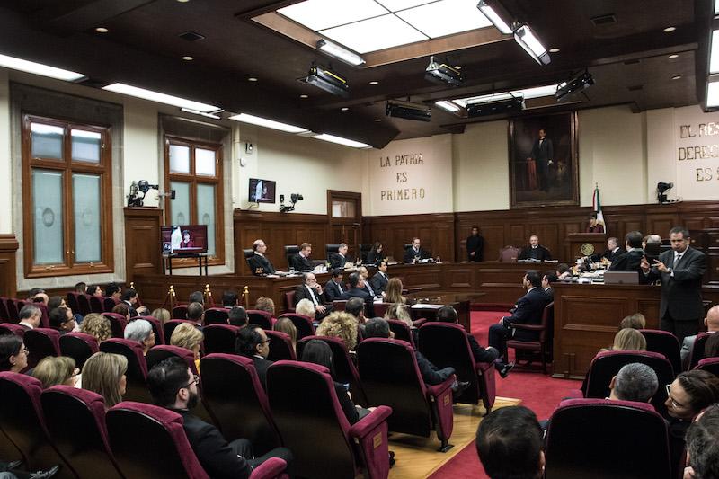 El Poder Judicial considera que ambas iniciativas representan una intromisión del Poder Legislativo. FOTO: MISAEL VALTIERRA / CUARTOSCURO.COM