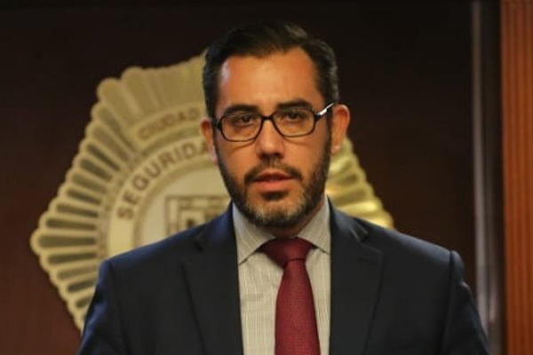 Jesús Orta es el nuevo titular de Seguridad Pública. FOTO: ESPECIAL