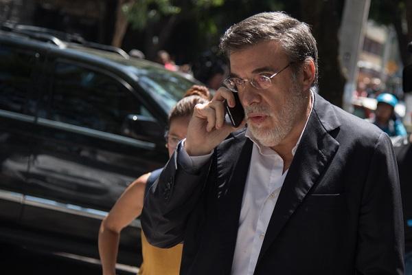 Julio Scherer confió en que todos los ministros resuelvan conforme a derecho. Foto: Cuartoscuro