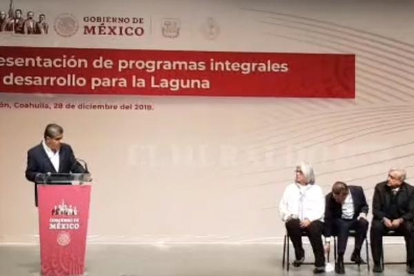 López Obrador presenta programas integrales de desarrollo para la Laguna: EN VIVO