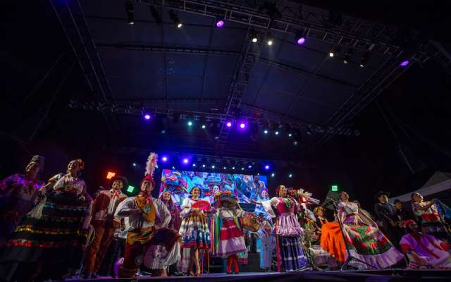 Lila Downs, Ely Guerra, María Daniela y su Sonido Láser y Cecilia Toussaint se reunirán este sábado en el Zócalo. Foto: DEMIAN CHÁVEZ /CUARTOSCURO.COM