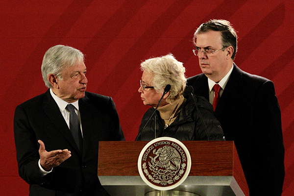 Andrés Manuel López Obradorfelicitó a los legisladores por la aprobación delPresupuesto de Egresos de la Federación 2019. FOTO: NOTIMEX