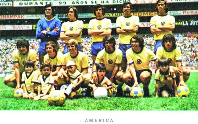 América de la temporada 1971-72 FOTO: Especial