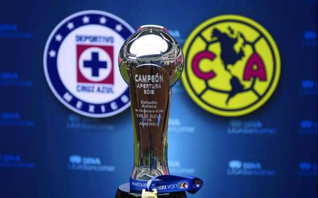 Foto durante el dia de medios previo a la Final de ida America vs Cruz Azul celebrado en las instalaciones del estadio Azteca     EN LA FOTO: