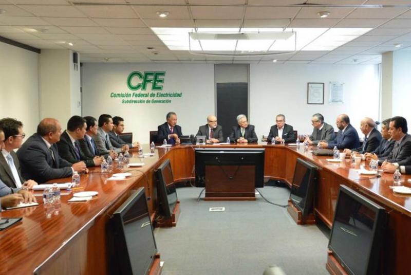 Hoy Bartlett sostuvo una reunión con el Director General del Centro Nacional de Control de Energía (CENACE), Alfonso Morcos