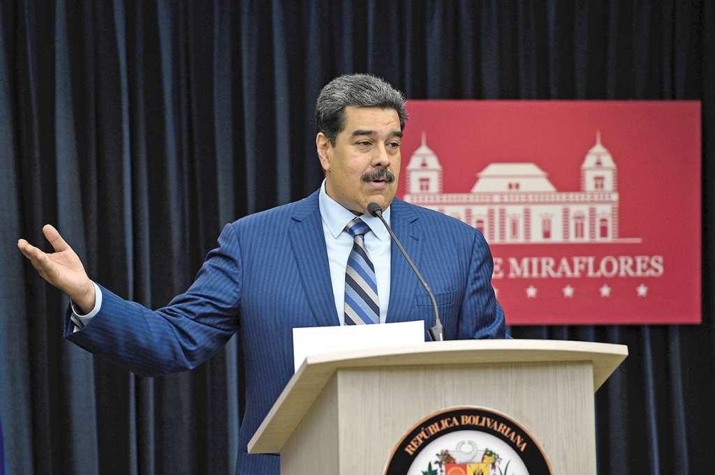 El presidente Nicolás Maduro denunció que John Bolton está involucrado en una trama para asesinarlo. Foto: AFP
