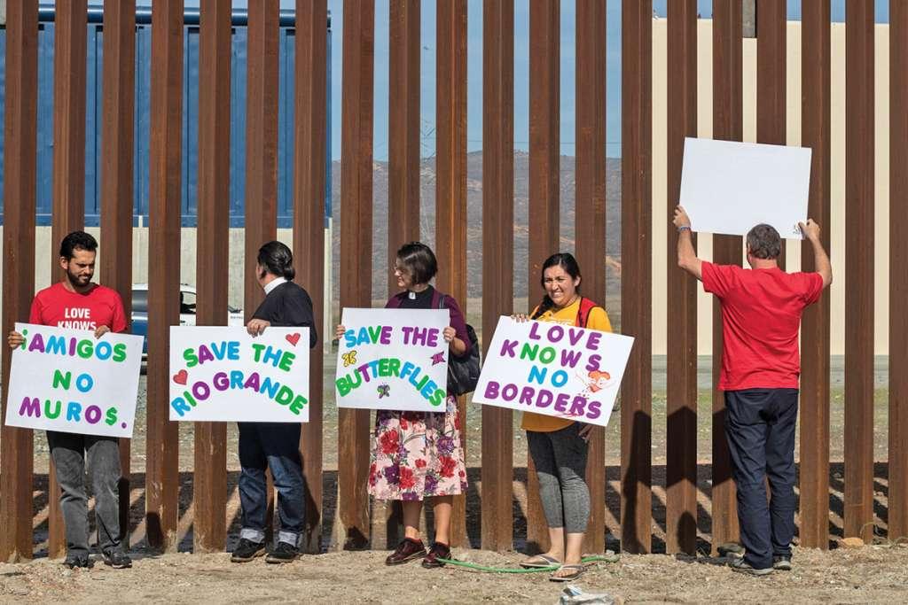 Con mayoría demócrata la construcción del muro es poco probable. Foto: AFP