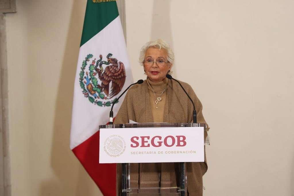 Detalló que en este momento no hay retorno de extranjeros no mexicanos que han solicitado al gobierno estadounidense refugio o asilo