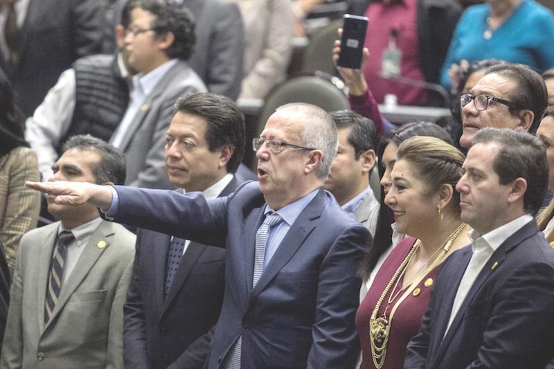 La Cámara de Diputados ratificó ayer a Carlos Urzúa Macías como secretario de Hacienda. Foto: Cuartoscuro