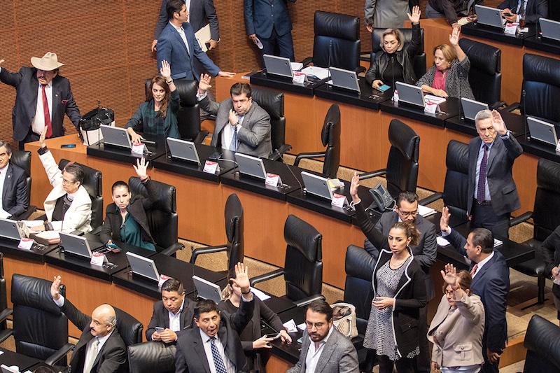 Las dos cámaras del Congreso pretenden aprobar el PEF antes de Navidad. FOTO: MISAEL VALTIERRA / CUARTOSCURO.COM