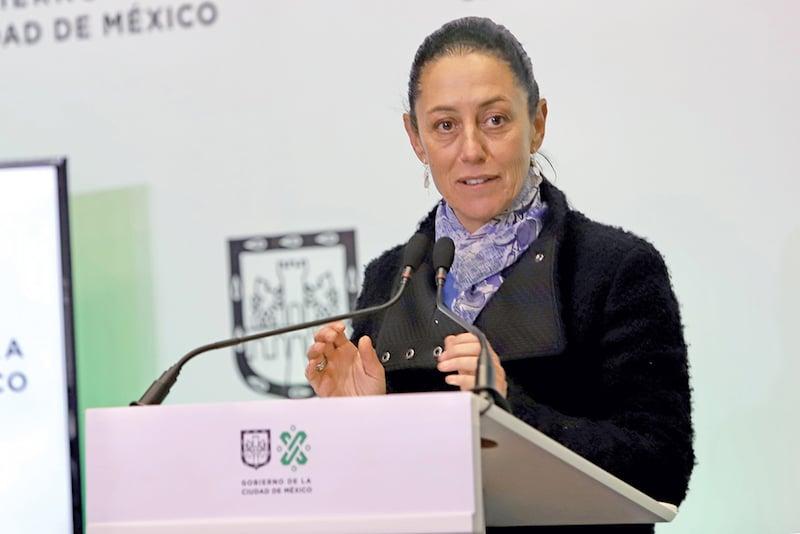 LA LÍNEA DORADA DEL METRO ES UNA DE LAS MÁS CONFLICTIVAS EN SU PROCESO DE CONSTRUCCIÓN. Foto: Víctor Gahbler / El Heraldo de México