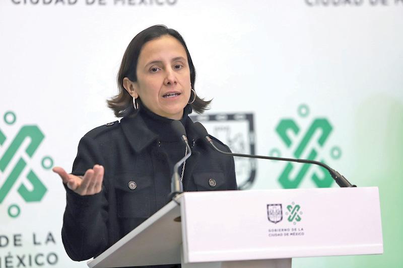 Luz Elena González, Secretaria de Finanzas de la CDMX. Foto: Víctor Gahbler / El Heraldo de México