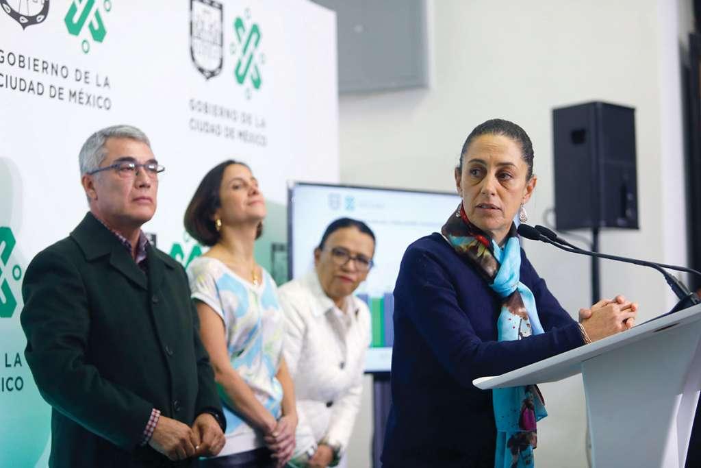 Claudia Sheinbaum dijo que lo que se tenga que turnar a la Contraloría se hará. Foto: Nayeli Cruz / El Heraldo de México.