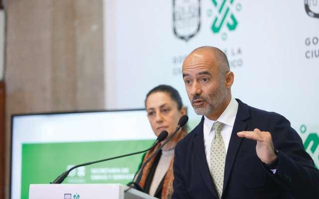 No se contemplaron el Interurbano ni la ampliación de la L12 del Metro, aseguró Esteva. Foto: Nayeli Cruz / El Heraldo de México.