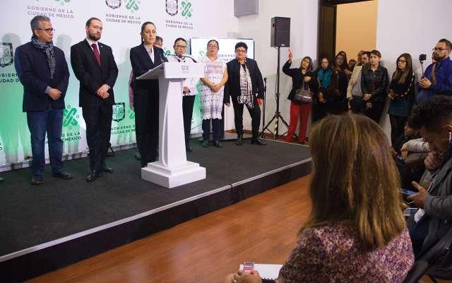 Sheinbaum señaló que contratarán traductores de lenguas originarias. FOTO: VICTORIA VALTIERRA /CUARTOSCURO.COM