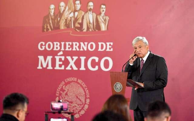 El Presidente ofreció su segunda conferencia matutina. Foto: Pablo Salazar Solís / El Heraldo de México