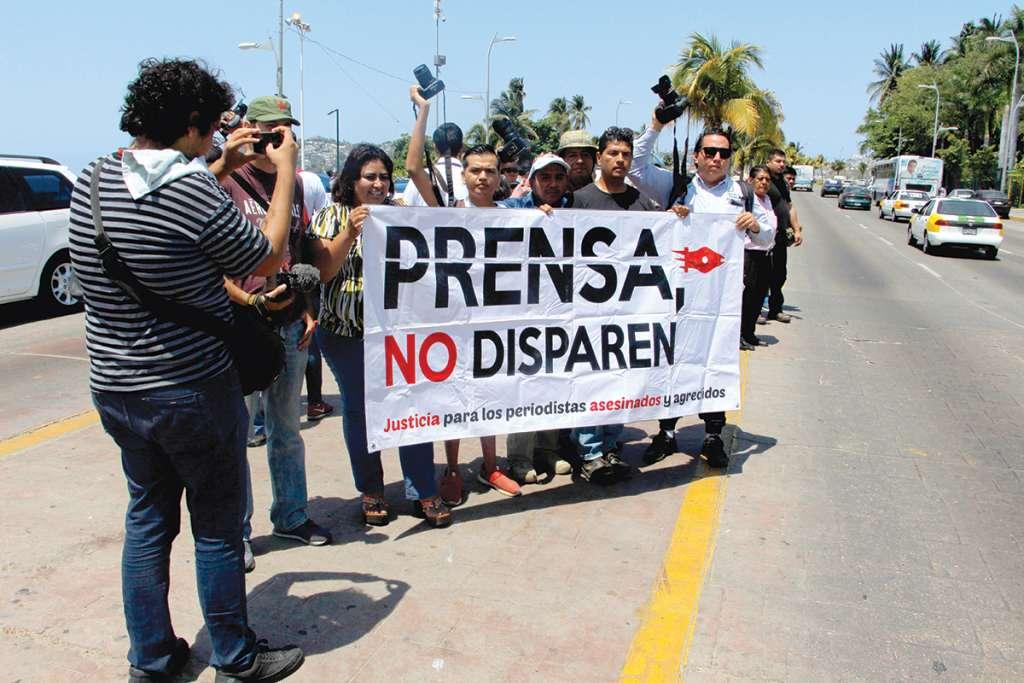La fundación está aliada con organismos civiles en defensa de los comunicadores. FOTO: CARLOS CARBAJAL /CUARTOSCURO.COM