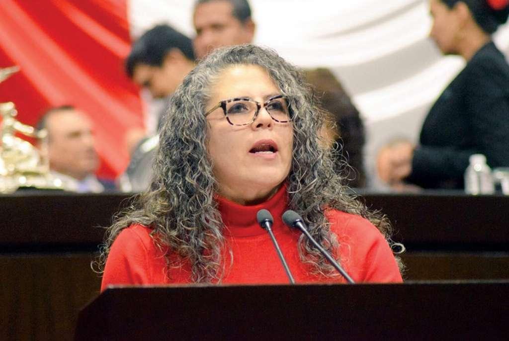 Miroslava Carrillo, diputada de Morena, advierte que los cambios a la Guardia Nacional serán para dar certeza. Foto: Especial.