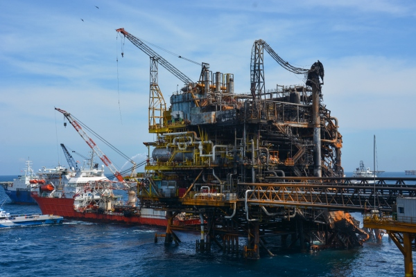 México exportó 201 millones de barriles de petróleo en los primeros 10 meses del año. Foto: Archivo   Cuartoscuro