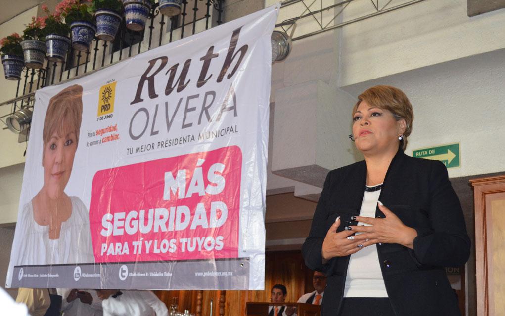 este sábado tomará protesta como presidenta municipal Ruth Olvera en Tlalnepantla. Foto: Especial