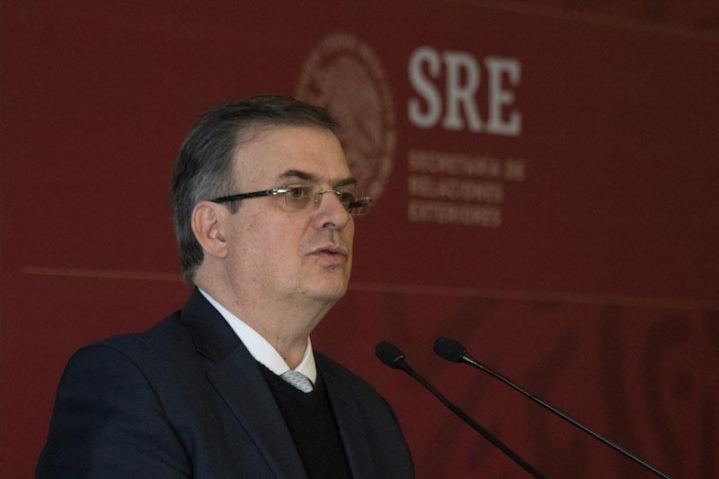 Marcelo Ebrard Casaubón, secretario de Relaciones Exteriores (SRE) FOTO: MOISÉS PABLO /CUARTOSCURO.COM