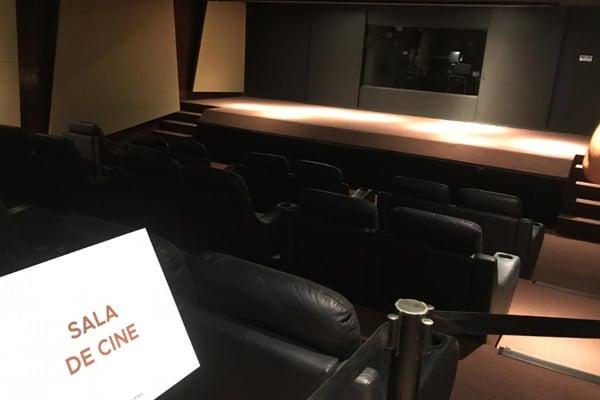 La sala está ubicada en el sótano de la Casa Miguel Alemán. FOTO: ESPECIAL