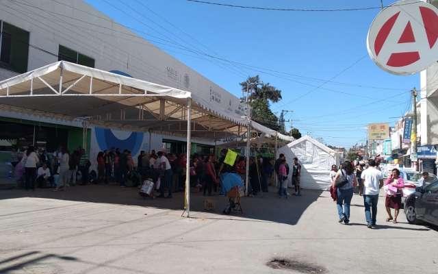 La líder sindical de la Sección 50, María de Jesús Espinoza de los Santos, dijo dentro de los logros que se obtuvieron en las primeras negociaciones fue el depósito de 418 millones de pesos en el rubro de SAR y Fovissste