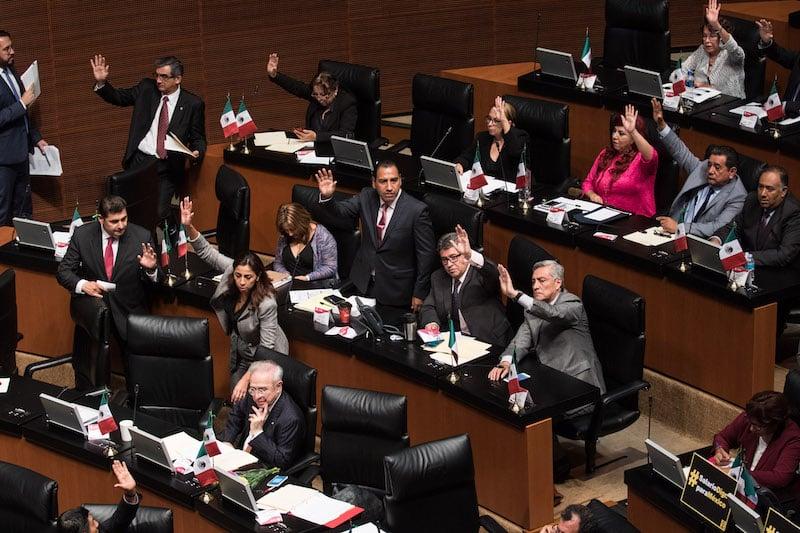 La ciudadanía prefiere que sus senadores sean honestos. FOTO: MISAEL VALTIERRA /CUARTOSCURO.COM