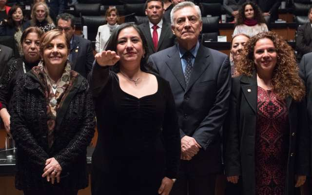 Eréndira Sandoval es la nueva titular de la ASF. Foto: Cuartoscuro