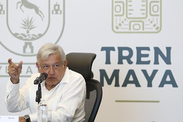 El Tren Maya conectara las principales ciudades y circuitos turisticos de la regioon. FOTO: CUARTOSCURO