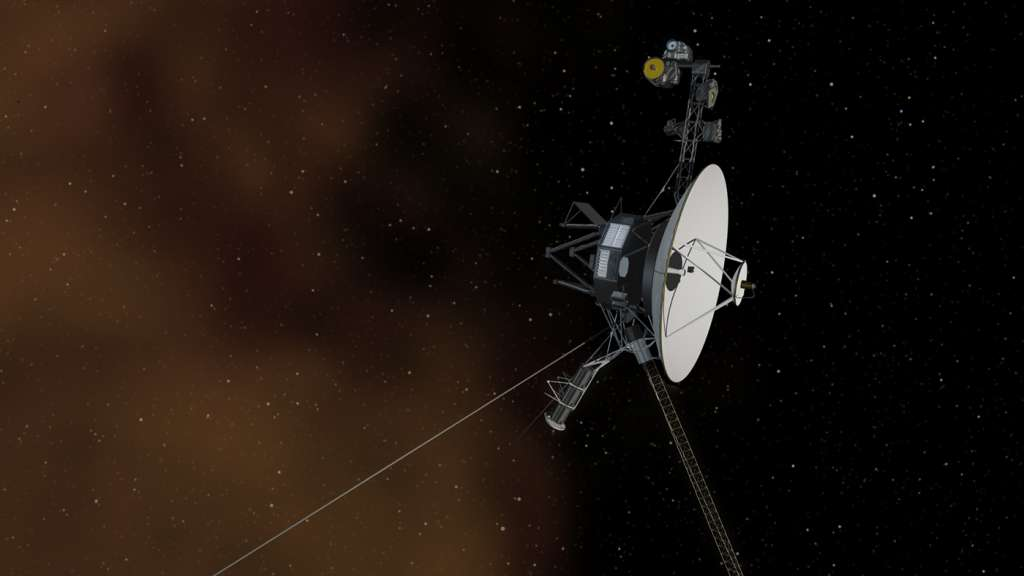 TIEMPO. La NASA estima que ambas Voyager continuarán funcionando hasta 2025. Foto: NASA