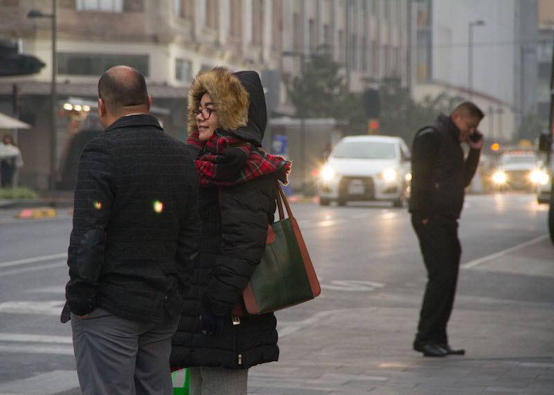 Hasta 4 grados el pronóstico de temperatura para la Ciudad de México este martes 25 de diciembre. FOTO: VICTORIA VALTIERRA / CUARTOSCURO.COM