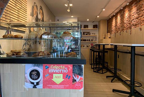 Este es el primer año que se organiza esta colecta, una iniciativa que nació entre amantes del café debido a la inquietud por las bajas temperaturas y la afectación a las personas que viven en la calle.