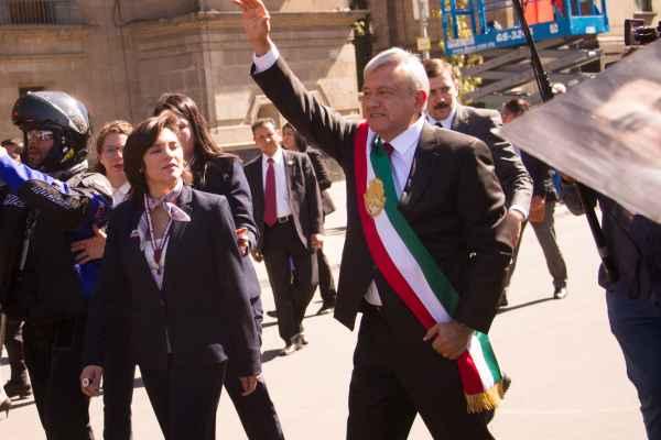 López Obrador viajó a Jalapa, Veracruz, para encabezar su primer acto presidencial. Foto: Archivo   Cuartoscuro