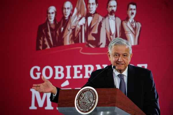 Comentó que como parte del programa, este domingo iniciará la construcción del tren maya en Palenque. Foto: Cuartoscuro