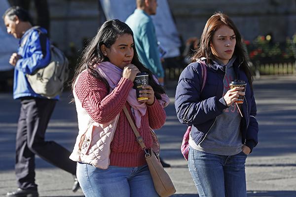 La temperatura máxima de la Ciudad de México será de 23 grados. FOTO: CUARTOSCURO