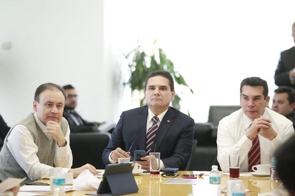 Aureoles Conejo y sus homólogos propusieron sostener reuniones bilaterales de Durazo con cada Gobernador, para tener un diagnóstico muy preciso. Foto: Especial