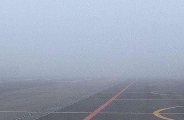 Los despegues y aterrizajes han sido suspendidos en el AICM.