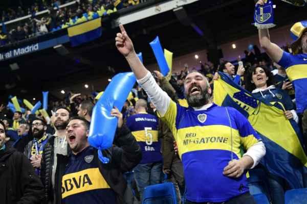 El atacante Cristian Pavón, recién recuperado de lesión, es la principal novedad en el once de Boca Juniors. Foto: AFP