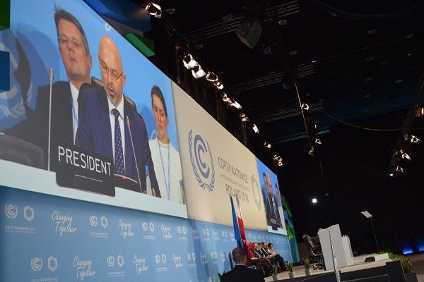 Durante la 24 Conferencia de Naciones Unidas sobre Cambio Climático (COP24) se aprobaron las reglas de aplicación para el Acuerdo de París, que permitirá avanzar hacia su implementación a partir de 2020 para limitar el calentamiento global. Foto: Notimex