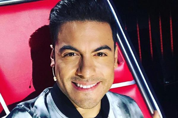 El cantante mexicano apoyó el triunfo de la española Cristina. FOTO: INSTAGRAM