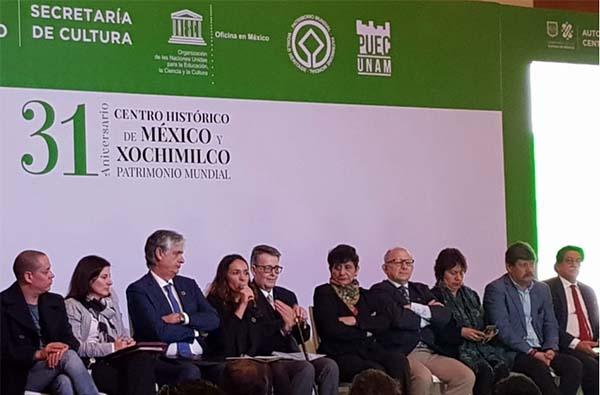 En el marco del 31 aniversario de la declaratoria del Centro Histórico y Xochimilco como patrimonio universal, la ex diputada anunció que se tiene el objetivo de hacer más transparente e identificable el procedimiento a fin de mejorarlo.