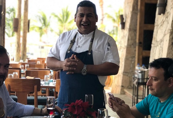 El menú permite contextualizar la cocina del chef Julio César Gutiérrez quien combina diferentes técnicas. Foto: Juanma Martínez Rodríguez