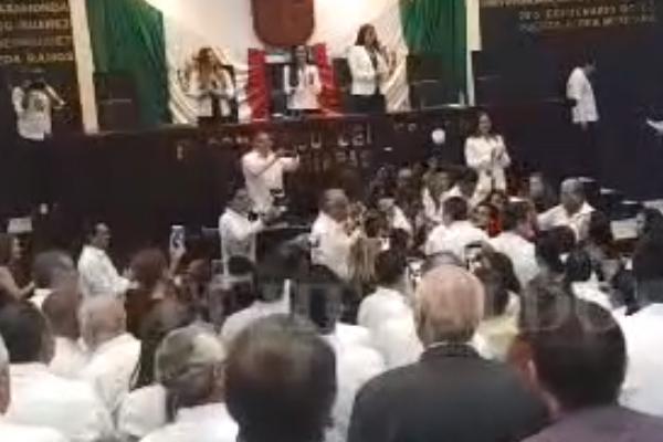 Este sábado Rutilio Escandón protesta como gobernador. FOTO: ESPECIAL